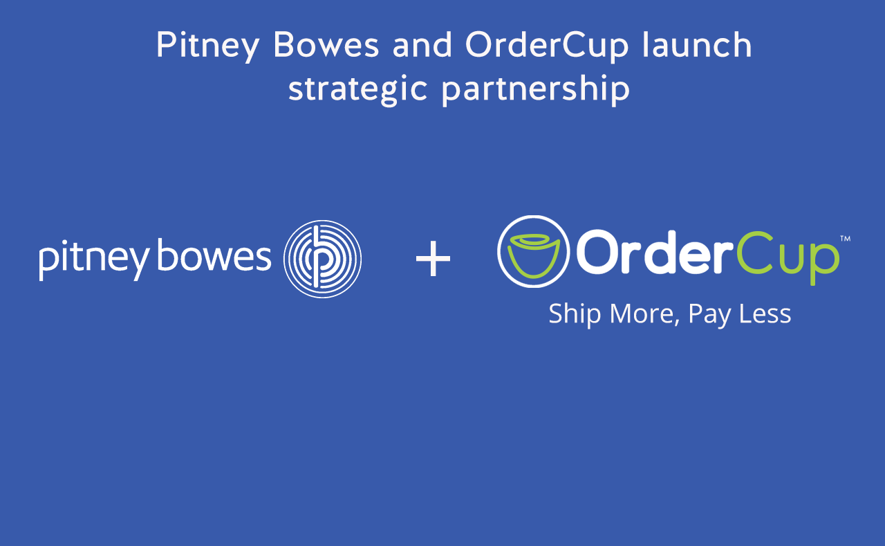 Pitney Bowes and OrderCup launch Strategic Partnership to